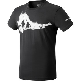 Dynafit Graphic Cotton Maglietta a maniche corte Uomo, black out/ascent